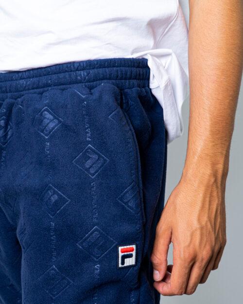 Pantaloni sportivi Fila HASTIN PANT Blue scuro - Foto 4