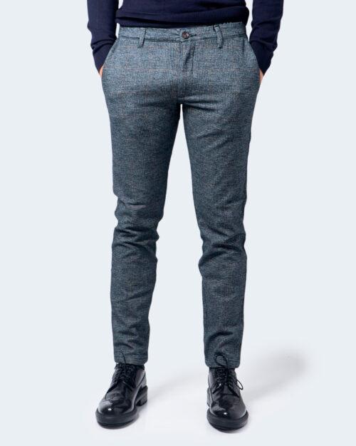 Pantaloni slim Idra FANTASIA QUADRI 716ST Blu – 58410