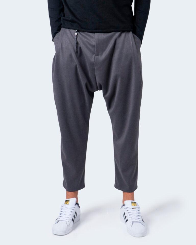 Pantaloni con cavallo basso Imperial CON CATENA Grigio - Foto 1