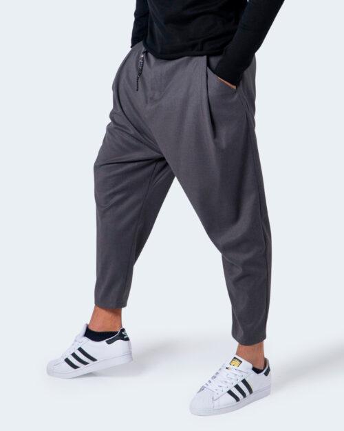 Pantaloni con cavallo basso Imperial CON CATENA Grigio - Foto 2