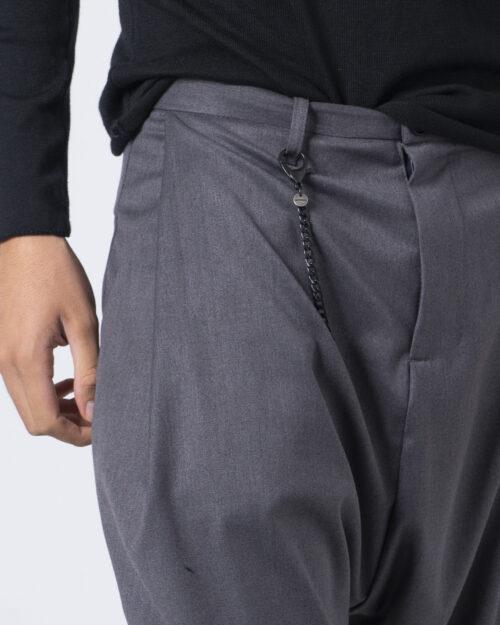 Pantaloni con cavallo basso Imperial CON CATENA Grigio - Foto 4