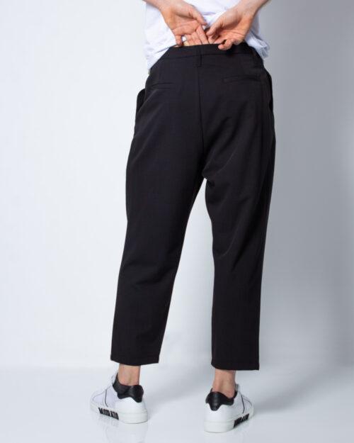 Pantaloni con cavallo basso Imperial APPLICAZIONE CATENA Nero - Foto 3