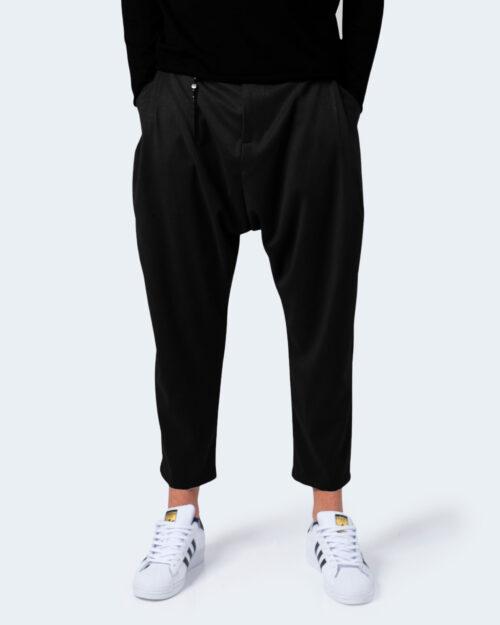 Pantaloni con cavallo basso Imperial CON CATENA Nero - Foto 1