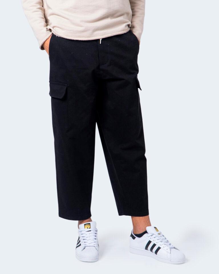 Pantaloni con cavallo basso Imperial TASCONI LATO Nero - Foto 1