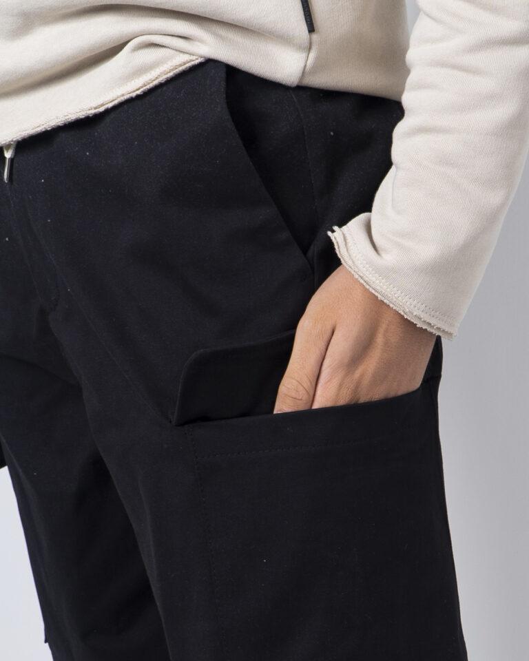 Pantaloni con cavallo basso Imperial TASCONI LATO Nero - Foto 3