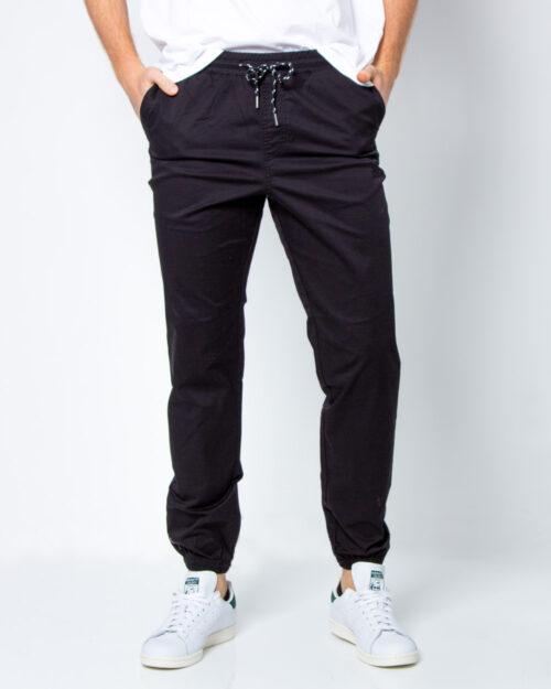 Pantaloni con cavallo basso Jack Jones GORDON JJFREE JOGGER WW Nero – 41933