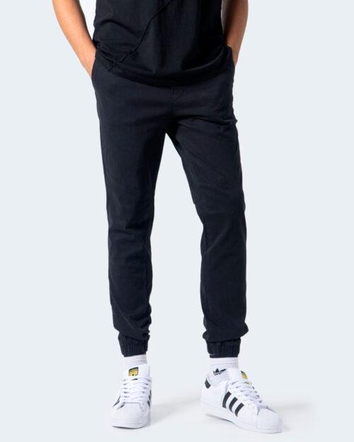 Pantaloni con cavallo basso Jack Jones VEGA AKM 1025 Nero – 54404