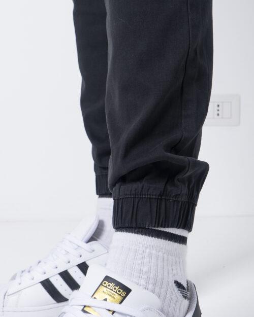 Pantaloni con cavallo basso Jack Jones VEGA AKM 1025 Nero - Foto 3