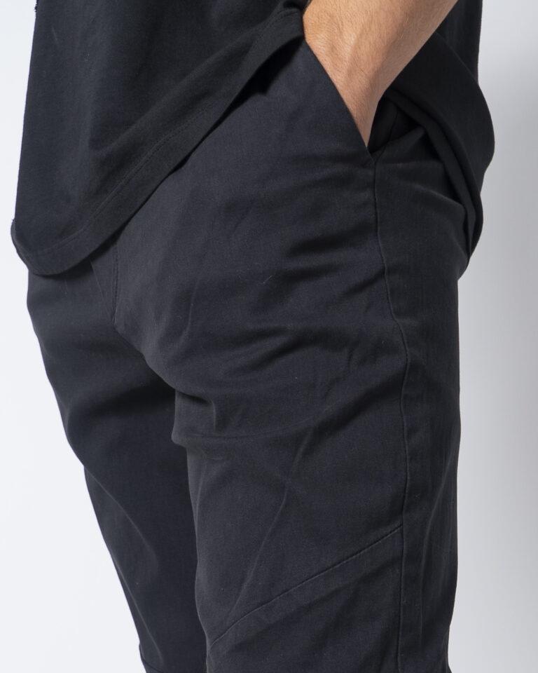 Pantaloni con cavallo basso Jack Jones VEGA AKM 1025 Nero - Foto 4