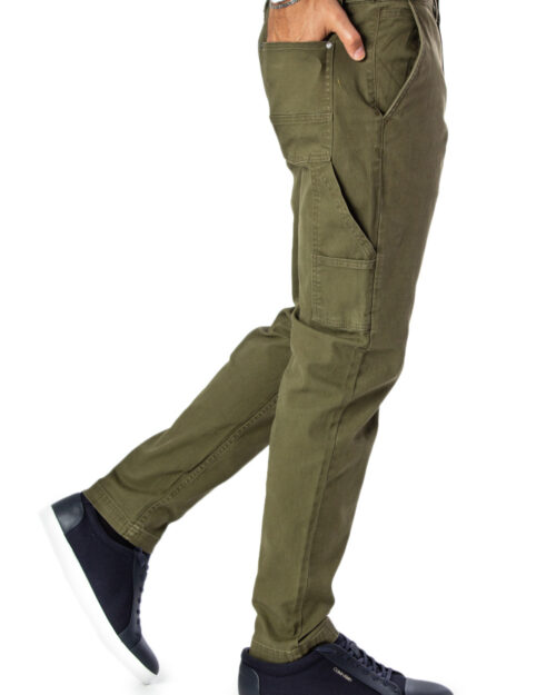 Pantaloni slim Jack Jones Ace Worker WW Olive Verde Oliva – 31110