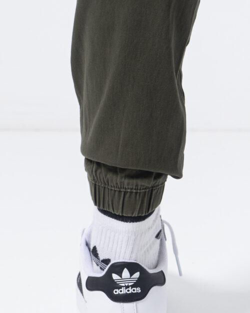 Pantaloni con cavallo basso Jack Jones VEGA JOGGER AKM Verde Oliva - Foto 4