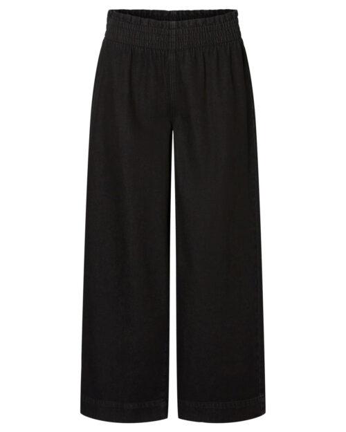Pantaloni a palazzo Noisy May ANNA NW SMOCK WIDE PANTS CS110BL Nero – 42020