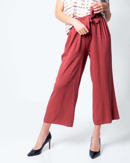 Pantaloni a palazzo One.0 CORTO CON FUSCIACCA Rosa – 51967