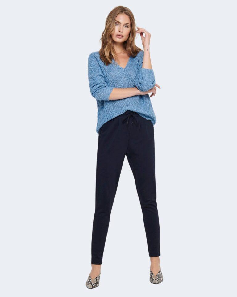 Pantaloni Only Poptrash Blu - Foto 2