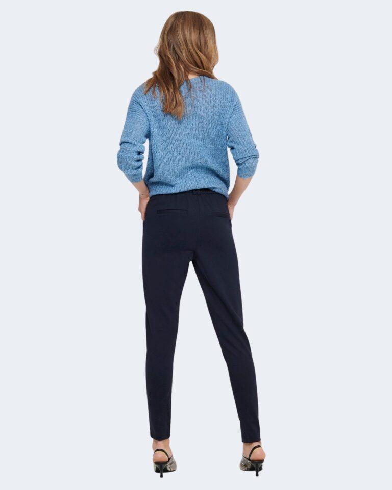 Pantaloni Only Poptrash Blu - Foto 3