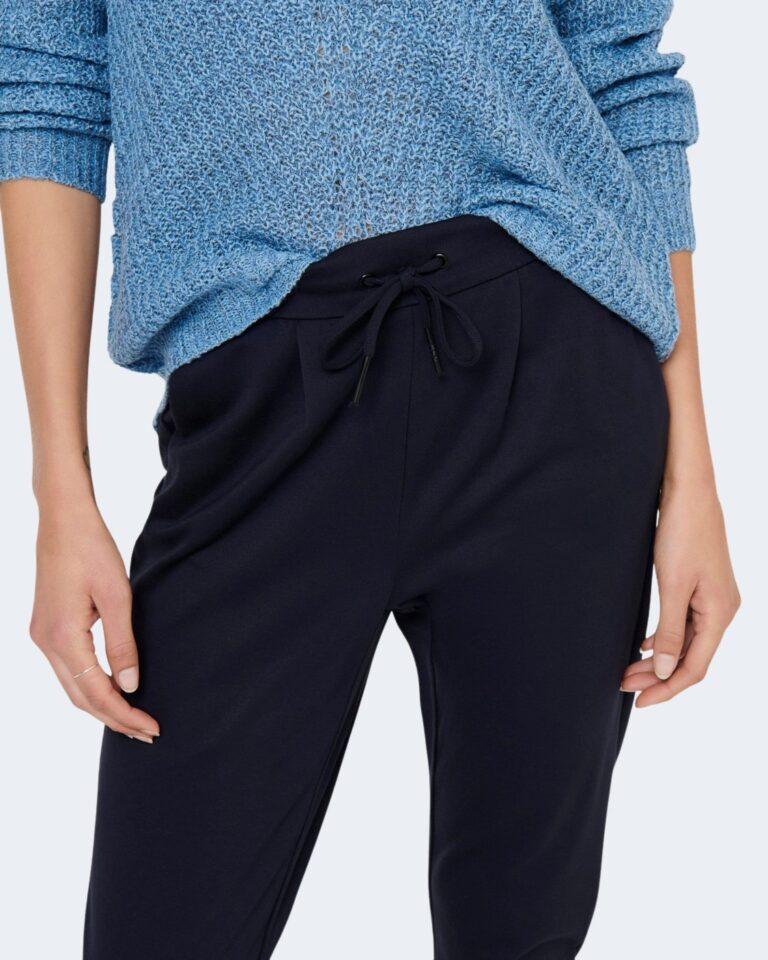Pantaloni Only Poptrash Blu - Foto 4