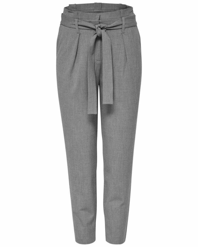 Pantaloni Only NICOLE Grigio Chiaro - Foto 4