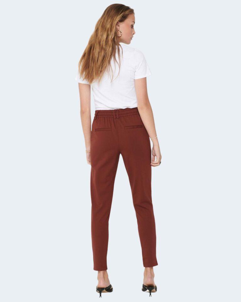 Pantaloni Only Poptrash Mattone - Foto 2