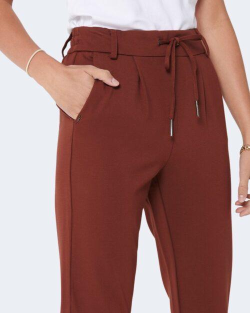 Pantaloni Only Poptrash Mattone - Foto 3