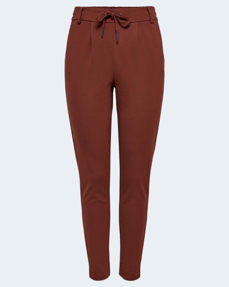 Pantaloni Only Poptrash Mattone - Foto 4