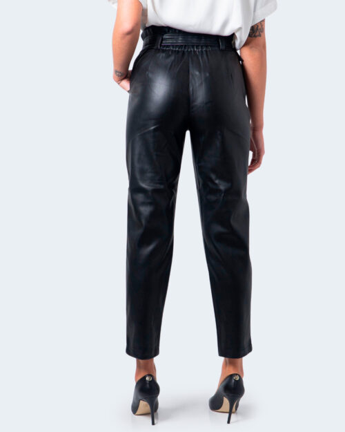 Pantaloni a sigaretta Only Briony-dionne Faux Leather Nero – 60029