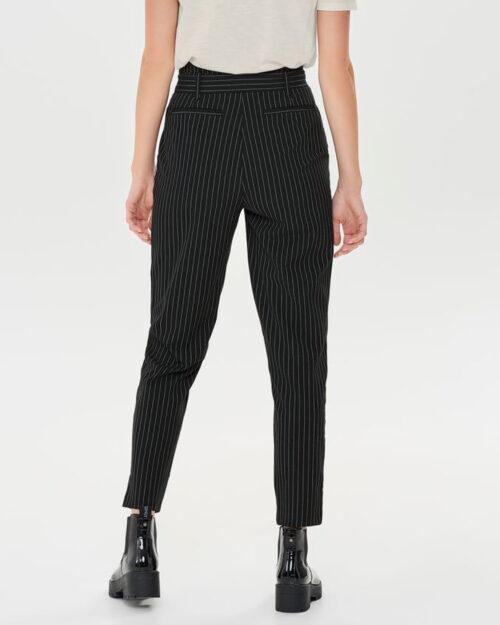 Pantaloni Only NICOLE PINSTRIPE PANTS WVN Nero – 61246