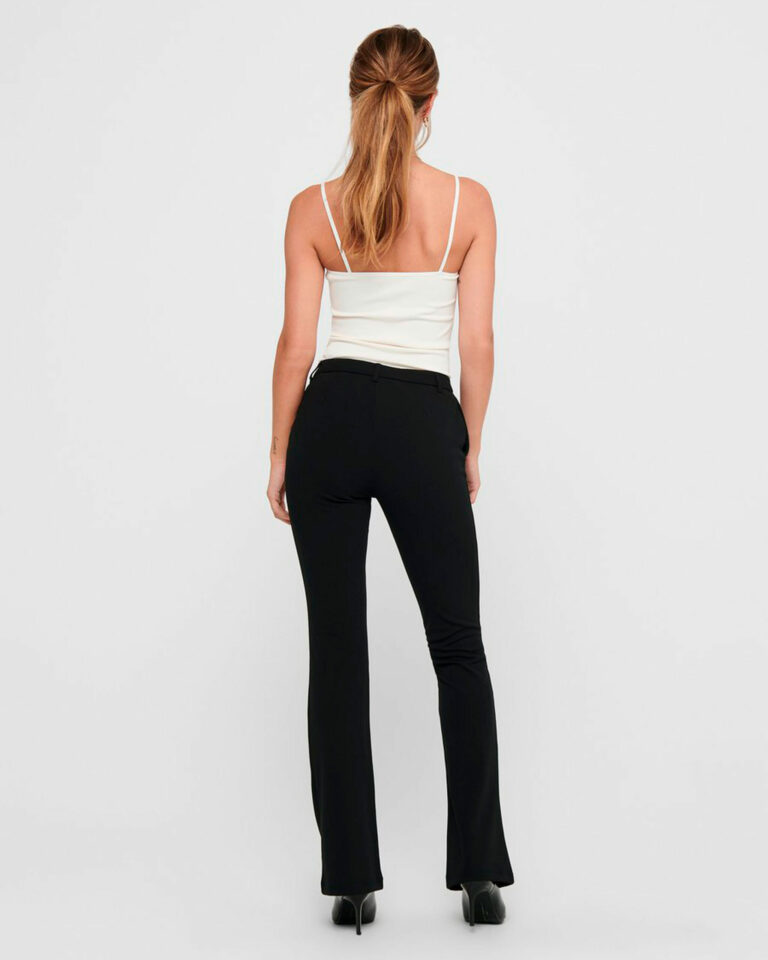 Pantaloni bootcut Only ROCKY MID FLARED PANT TLR NOOS Nero - Foto 2
