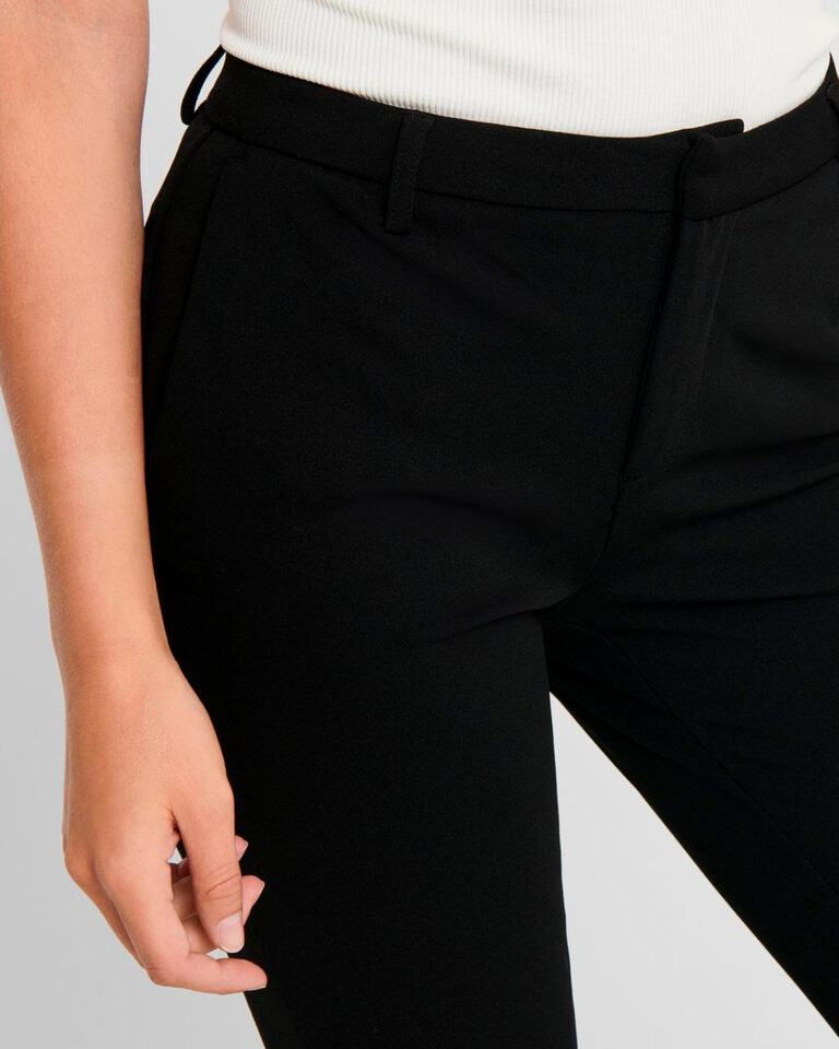 Pantaloni bootcut Only ROCKY MID FLARED PANT TLR NOOS Nero - Foto 3