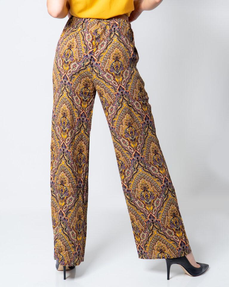 Pantaloni a palazzo Only VIDE WIDE PANT WVN Oro - Foto 2