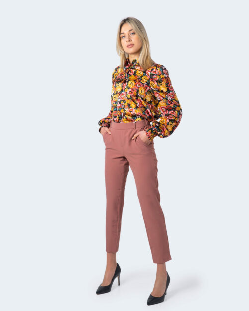 Pantaloni a sigaretta Only Glowing Mid Ankle Pant Do Pnt Rosa – 30929