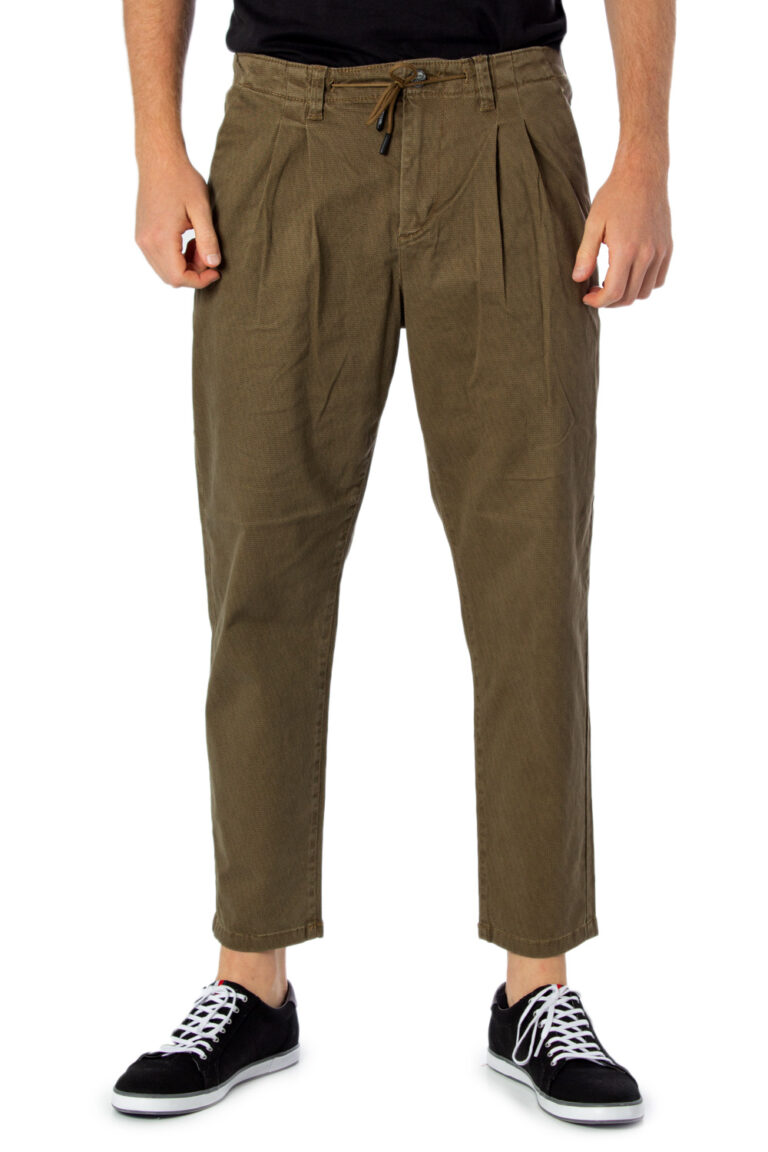 Pantaloni con cavallo basso Only & Sons LEO AOP WASHED PK 3724 Beige - Foto 1