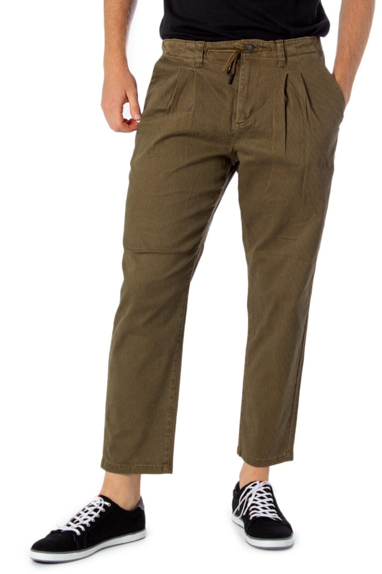 Pantaloni con cavallo basso Only & Sons LEO AOP WASHED PK 3724 Beige - Foto 2