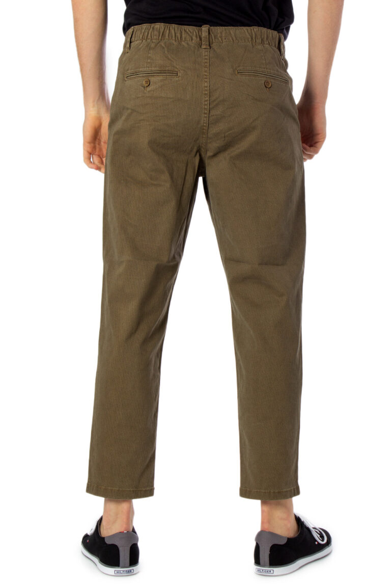 Pantaloni con cavallo basso Only & Sons LEO AOP WASHED PK 3724 Beige - Foto 3