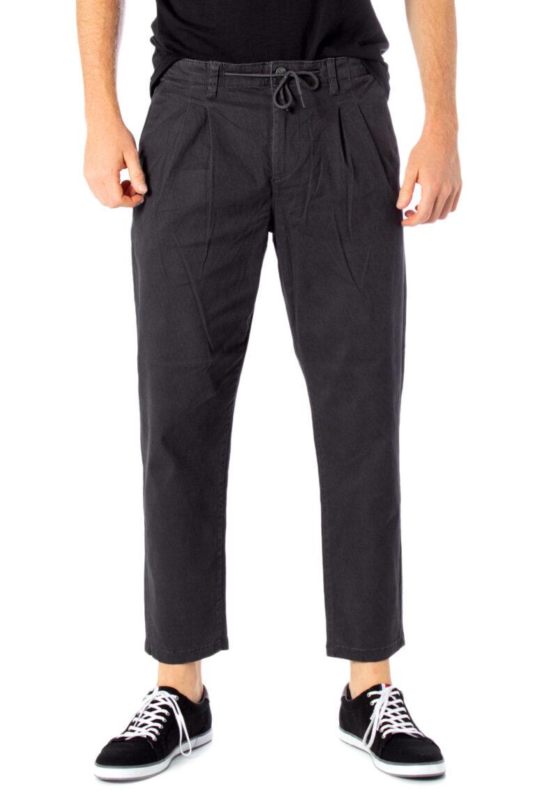 Pantaloni con cavallo basso Only & Sons LEO AOP WASHED PK 3724 Grigio - Foto 1