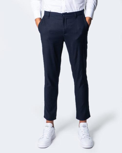 Pantaloni slim Over-d CHINO ESSENTIAL Blu – 53443
