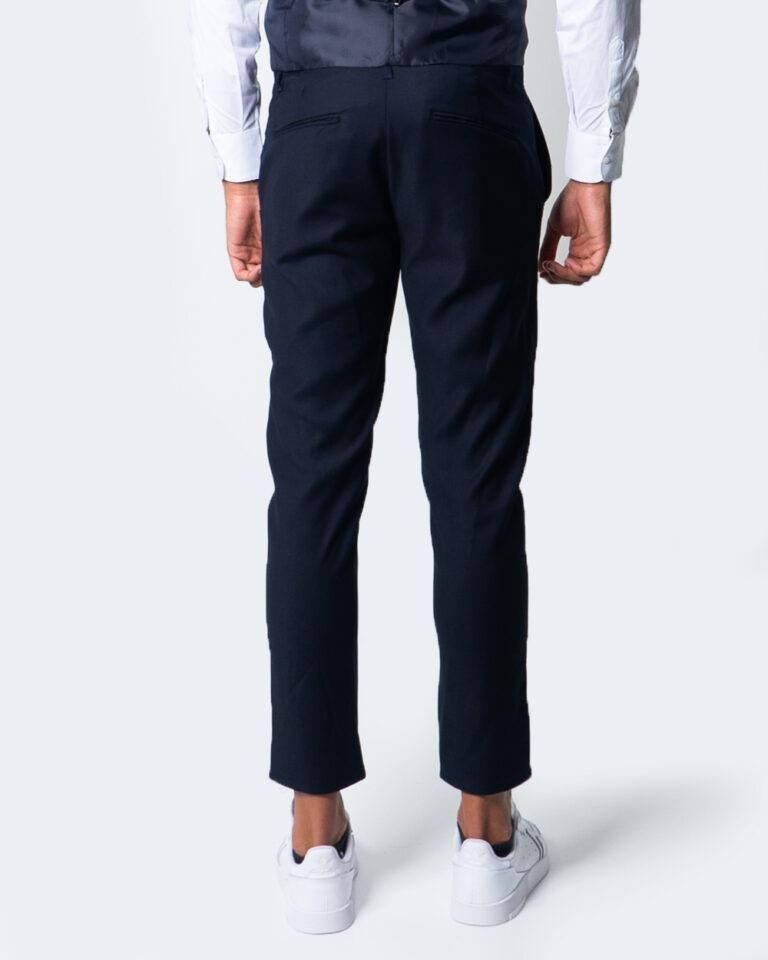 Pantaloni slim Over-D CHINO ESSENTIAL Blu - Foto 2