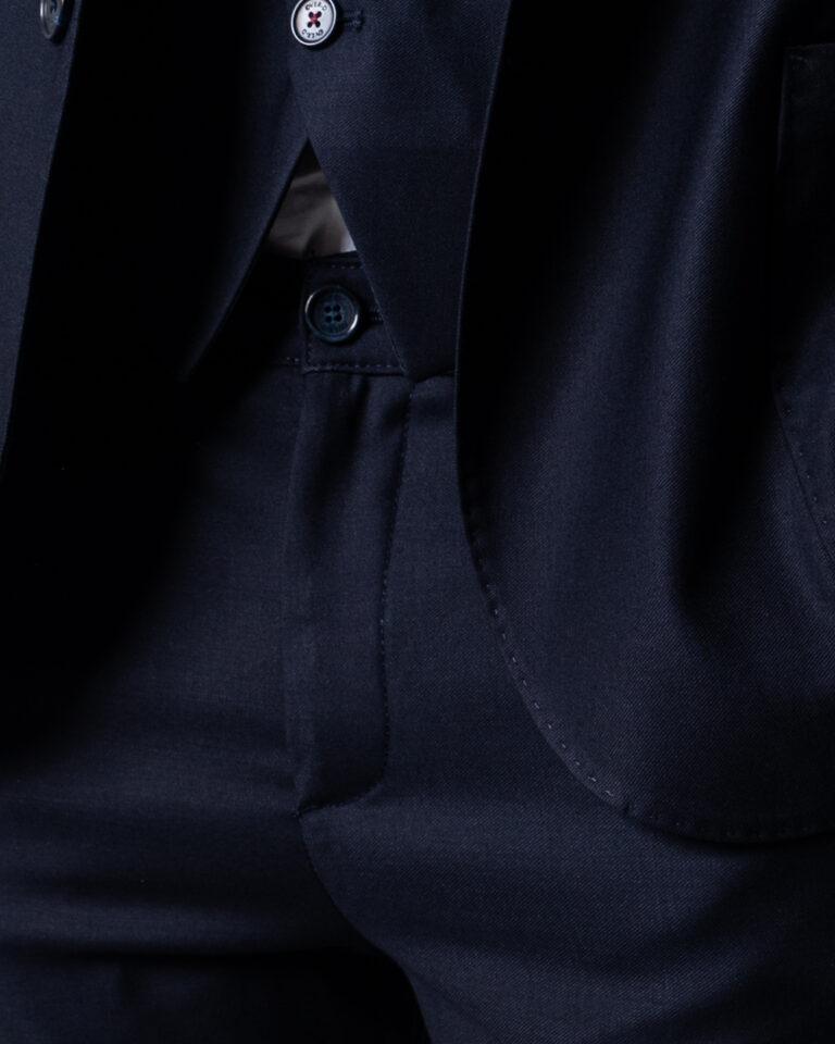 Pantaloni slim Over-D CHINO ESSENTIAL Blu - Foto 3