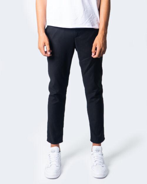 Pantaloni slim Over-d CHINO ESSENTIAL Nero – 53443