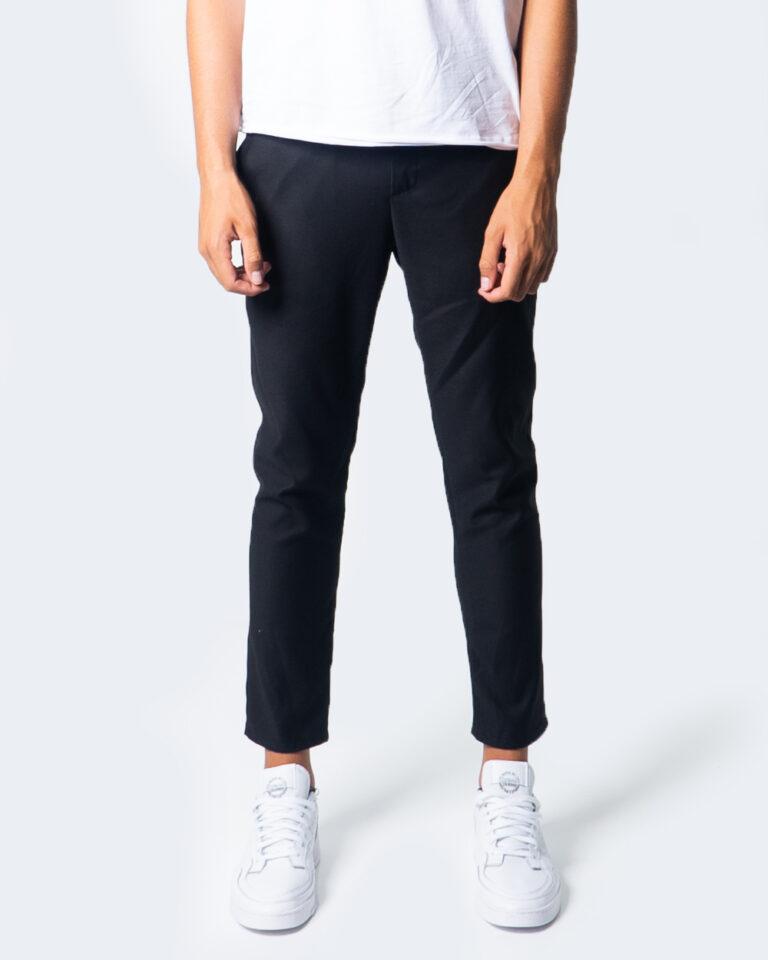 Pantaloni slim Over-D CHINO ESSENTIAL Nero - Foto 1