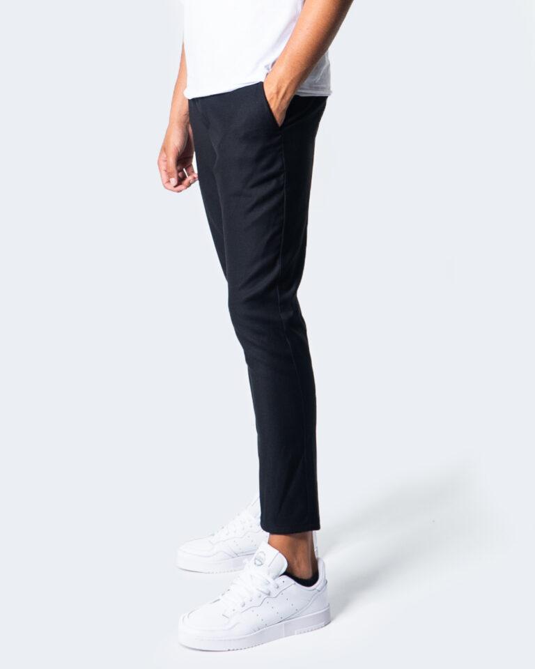 Pantaloni slim Over-D CHINO ESSENTIAL Nero - Foto 2