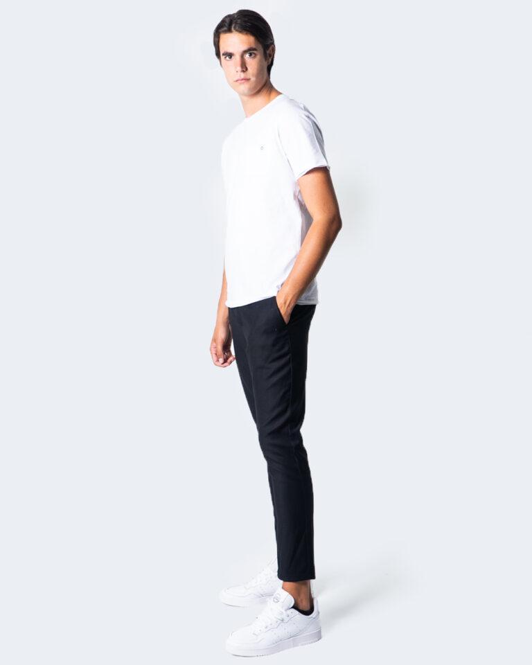 Pantaloni slim Over-D CHINO ESSENTIAL Nero - Foto 3