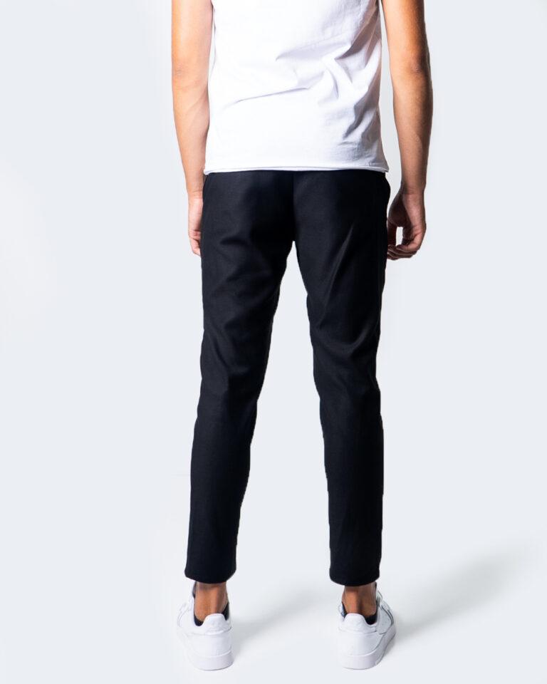 Pantaloni slim Over-D CHINO ESSENTIAL Nero - Foto 4
