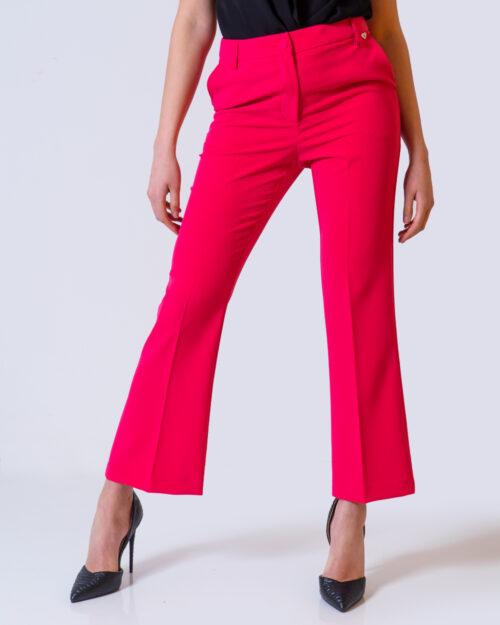 Pantaloni bootcut Please FINDON Fuxia – 42617