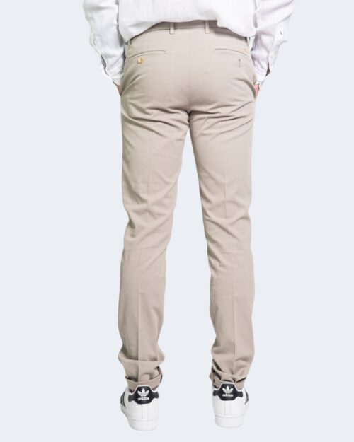 Pantaloni Harmont&Blaine NARROW Beige - Foto 3