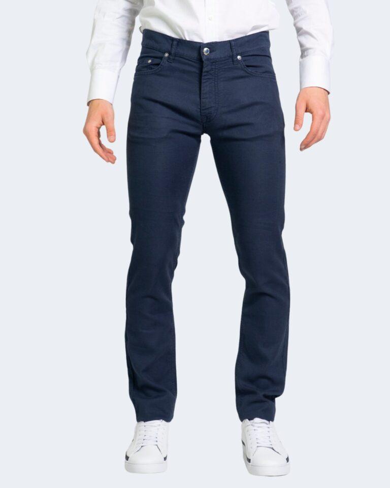Pantaloni Harmont&Blaine BASICO NARROW Blue scuro - Foto 1