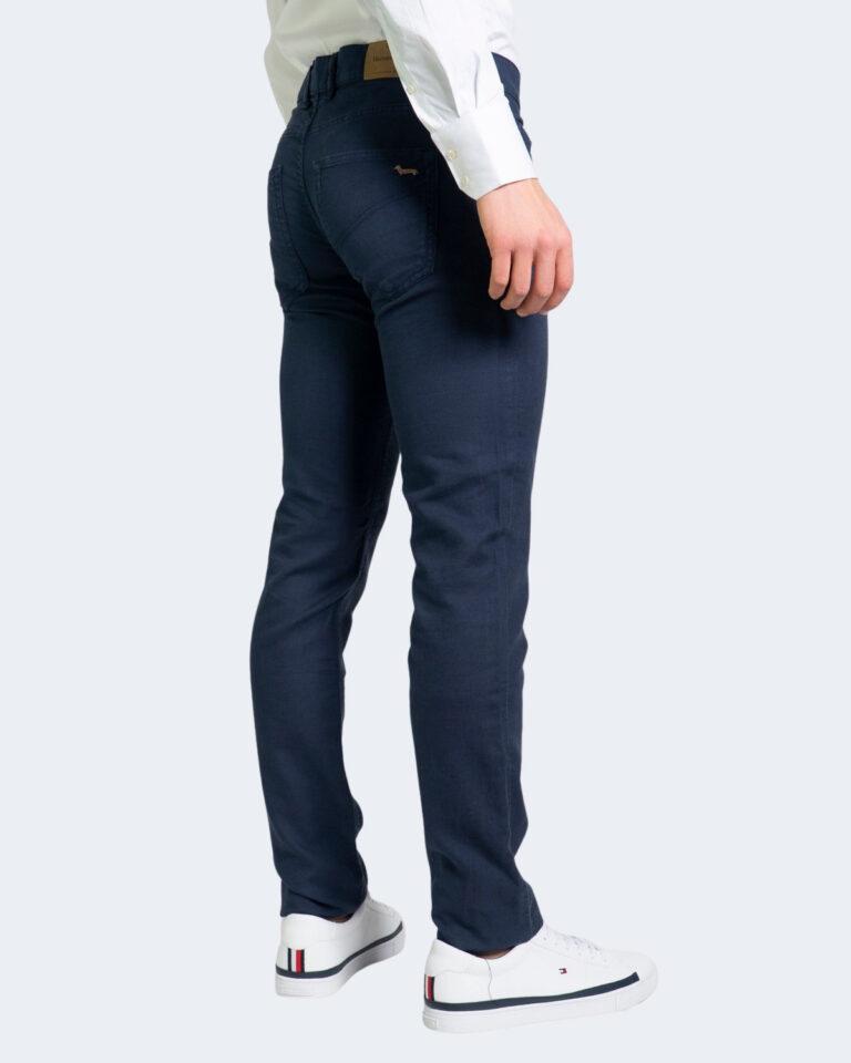 Pantaloni Harmont&Blaine BASICO NARROW Blue scuro - Foto 2