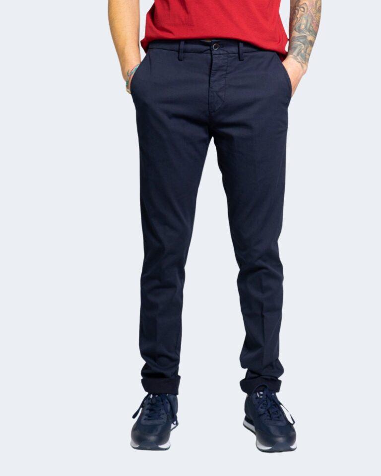 Pantaloni Harmont&Blaine NARROW Blue scuro - Foto 1