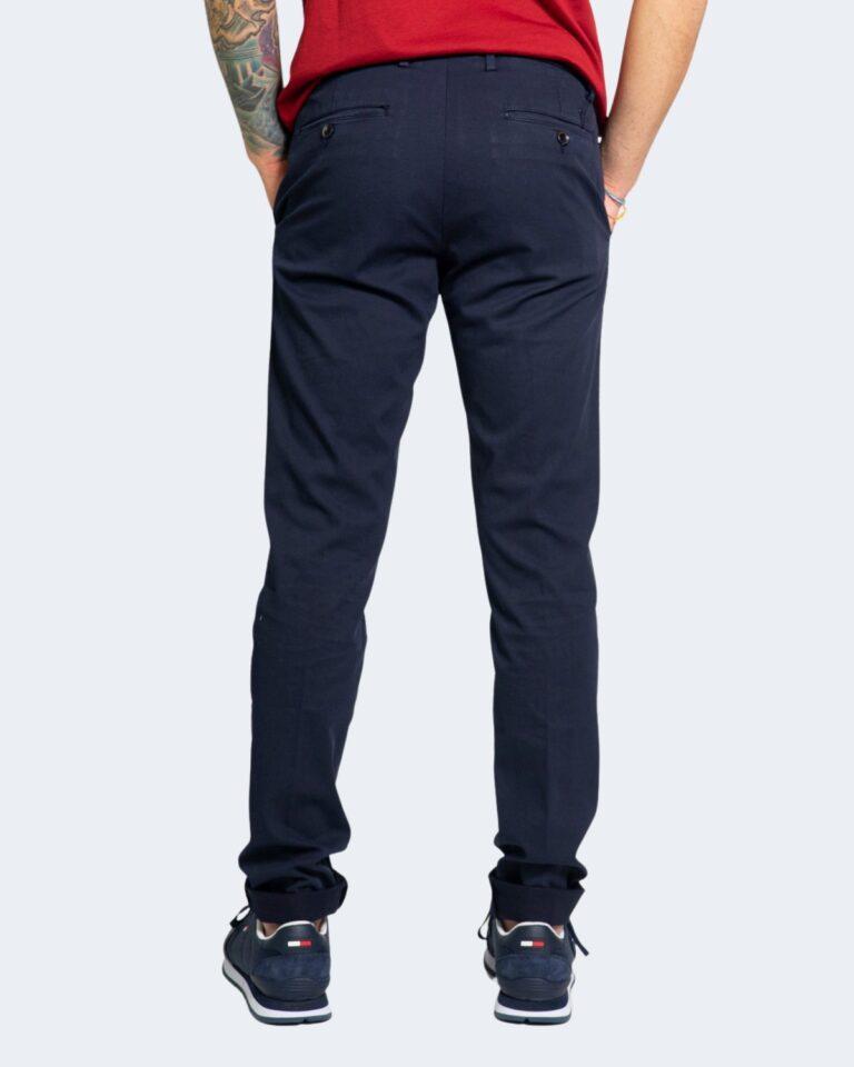 Pantaloni Harmont&Blaine NARROW Blue scuro - Foto 3