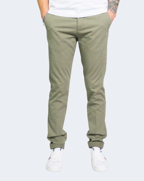 Pantaloni Harmont&blaine NARROW Verde Oliva – 67559
