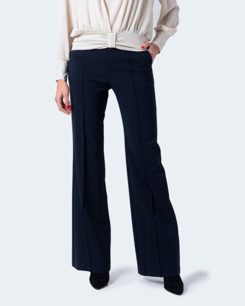Pantaloni bootcut Sandro Ferrone Pangea tessuto Tecnico Blu – 59608